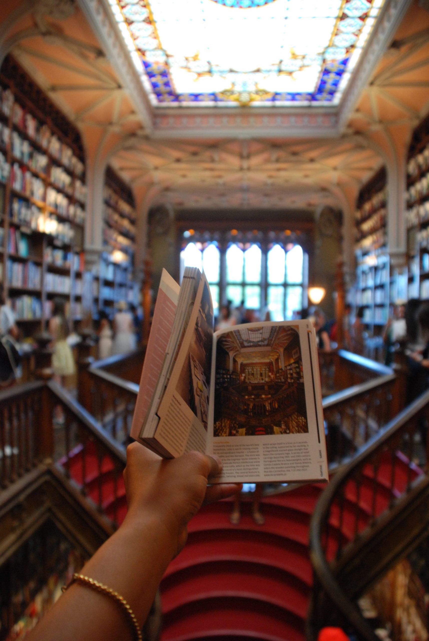 librairie portugaise lello